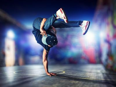 Breakdance und Graffiti Camp